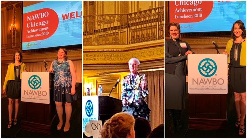 Michele Katz, Advitam IP, Joins Parade of Presidents at NAWBO Chicago Achievement Luncheon