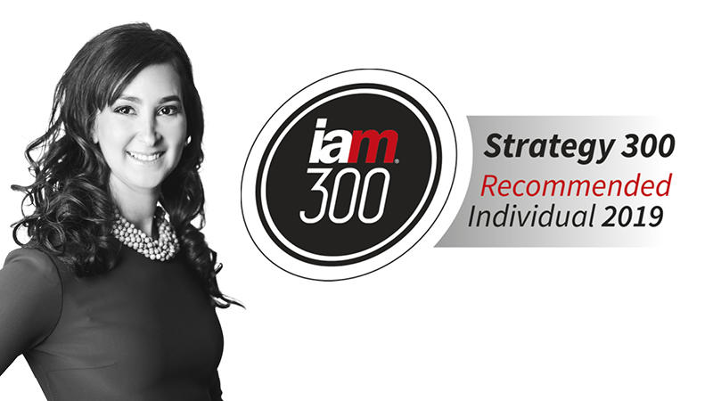 Michele Katz, Advitam IP, Named to the IAM Strategy 300 Guide