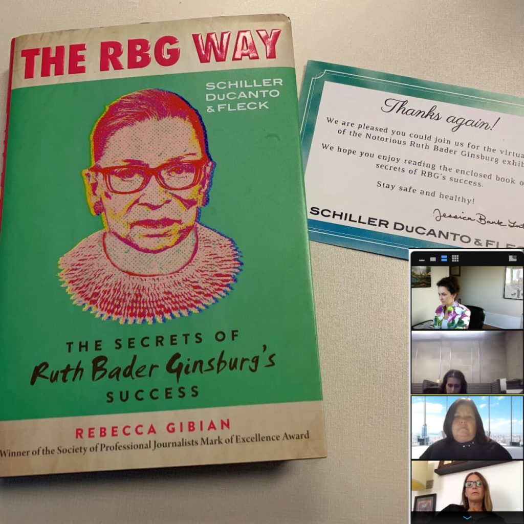 Remembering Ruth Bader Ginsburg with a Virtual Tour