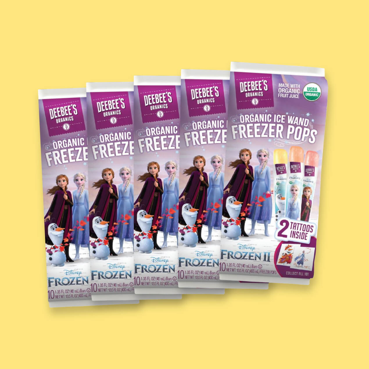 Congrats to DeeBee's Organics on its Upcoming Frozen 2 Product Line Launch!
