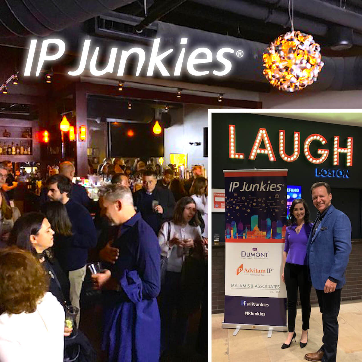 It Was More than Just a Tea Party for the IP Junkies® in Boston