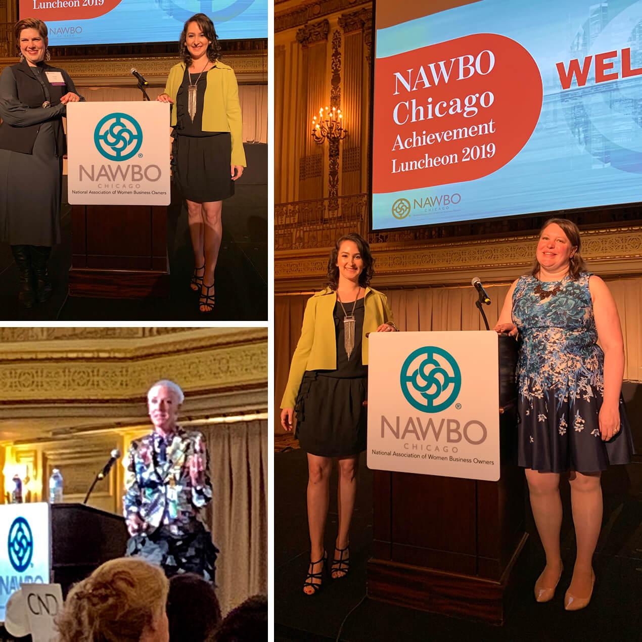 Michele Katz, Advitam IP, Joins Parade of Presidents at NAWBO Chicago Achievement Luncheon