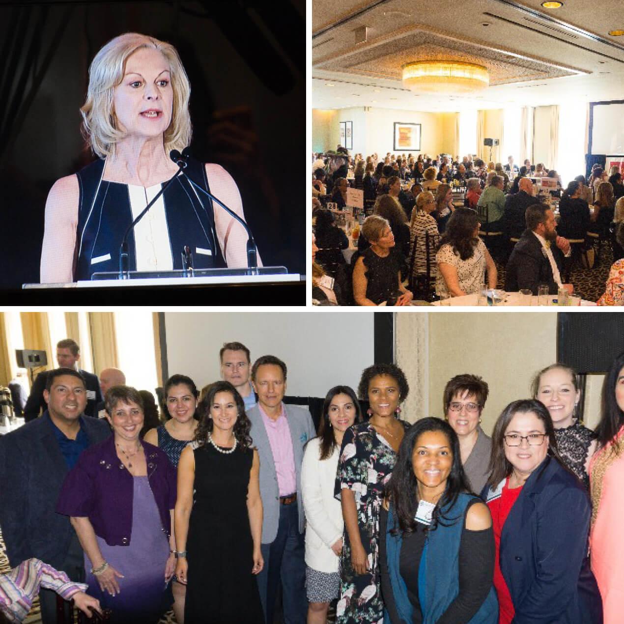 Christie Hefner Addresses Packed House at NAWBO Chicago Achievement Luncheon